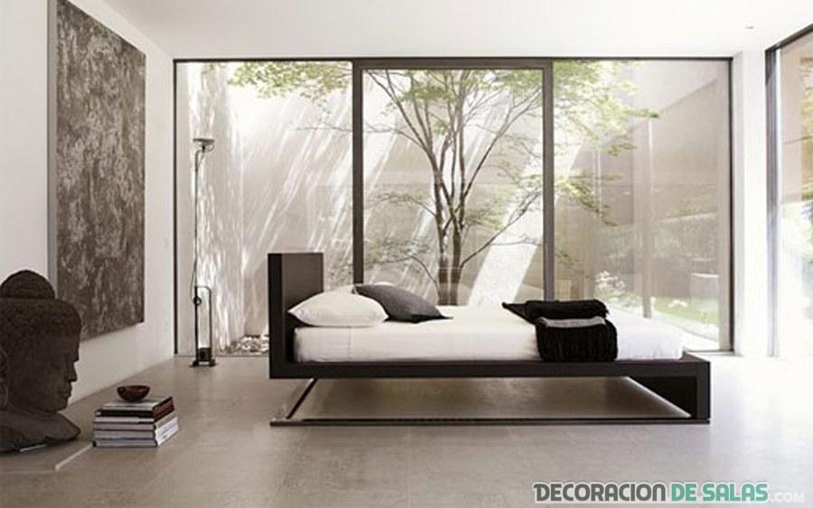 dormitorio con mármol