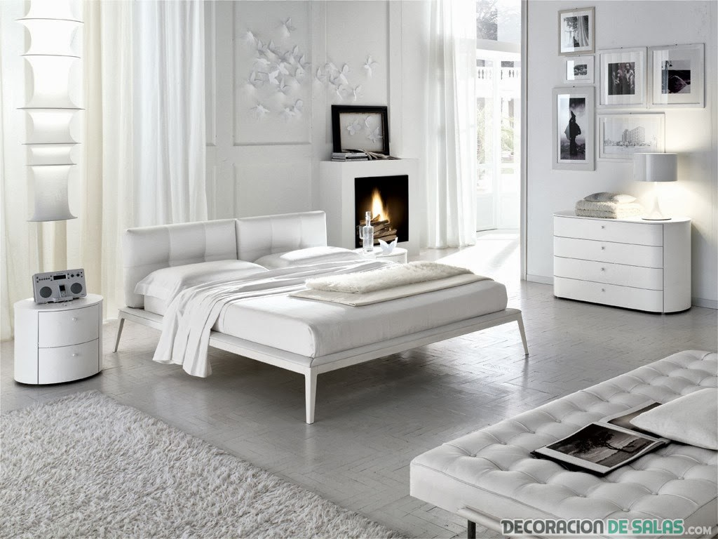 Consejos Para La Decoraci N Con Muebles Blancos # Muebles Necesarios En Un Dormitorio