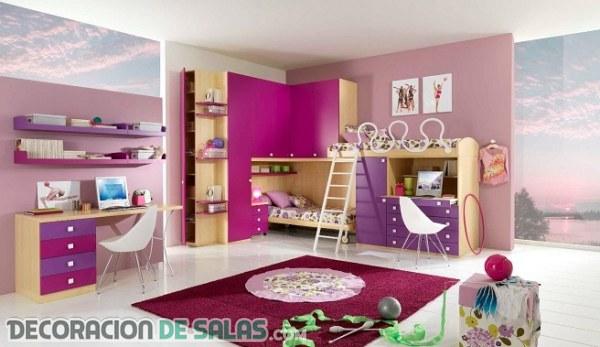 Dormitorios con escritorios muy modernos