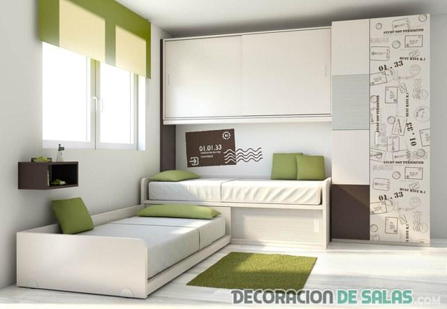 Ideas modernas de dormitorios dobles - Dormitorio dos camas ...