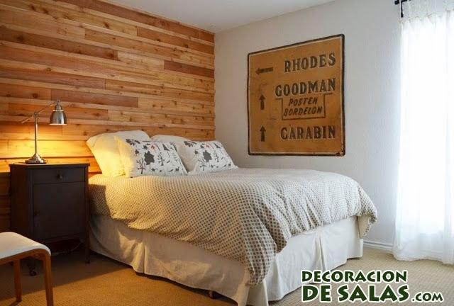 dormitorio elegante y simple