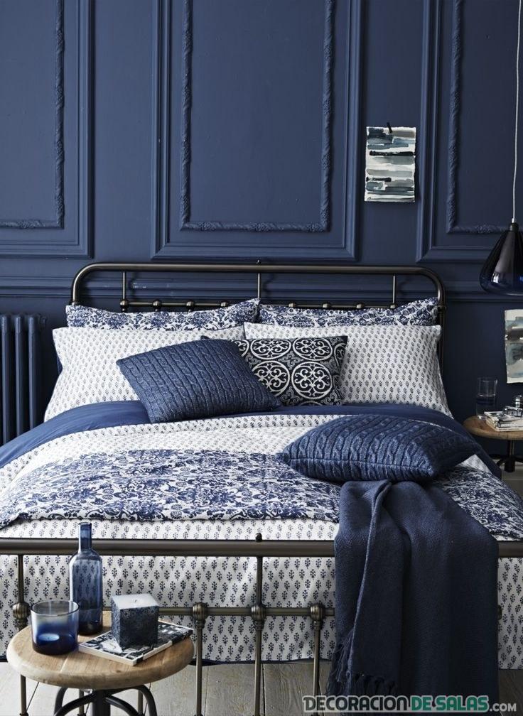 Ideas de decoración navy en azul oscuro