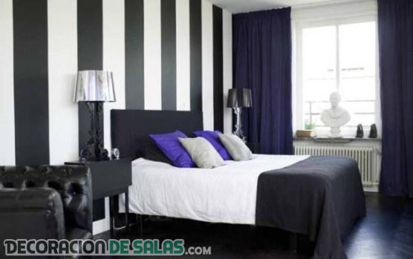 Cambiar la decoración del dormitorio solo con pintura