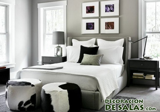 El color gris en tu decoraci n de interiores for Mezclar muebles claros y oscuros