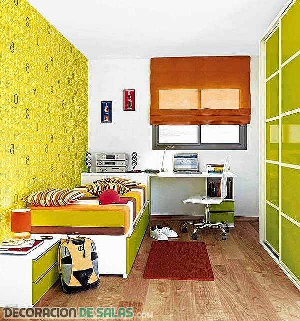 Dormitorios infantiles peque os para varones - Dormitorios para nino ...