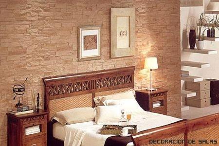 Detalles del estilo colonial - Dormitorio estilo colonial ...