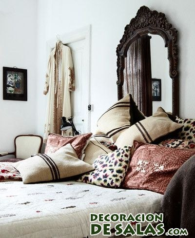Dormitorios tnicos y modernos