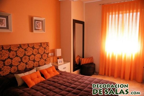 Habitaciones en color naranja - Habitaciones color naranja ...