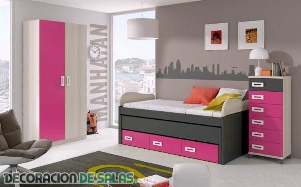 Dormitorios infantiles y juveniles de merkamueble - Habitaciones pequenas ikea ...