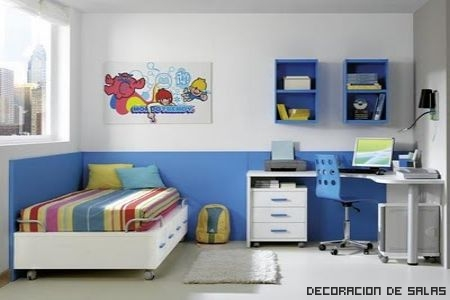 Consejos para la zona de estudio - Cortinas dormitorio juvenil ...