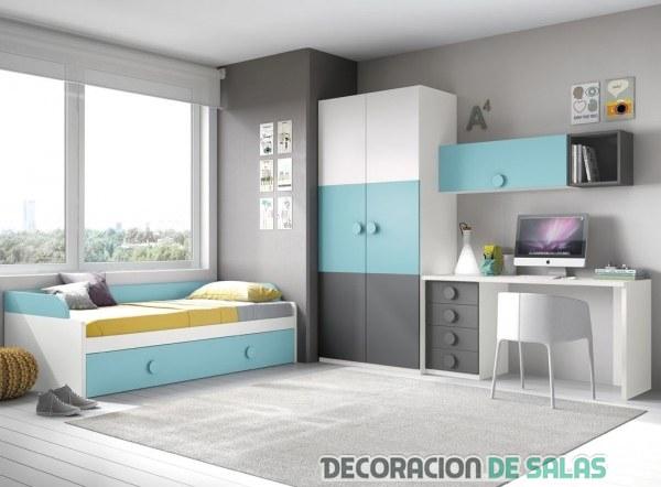 Dormitorios infantiles y juveniles de merkamueble - Armarios juveniles merkamueble ...