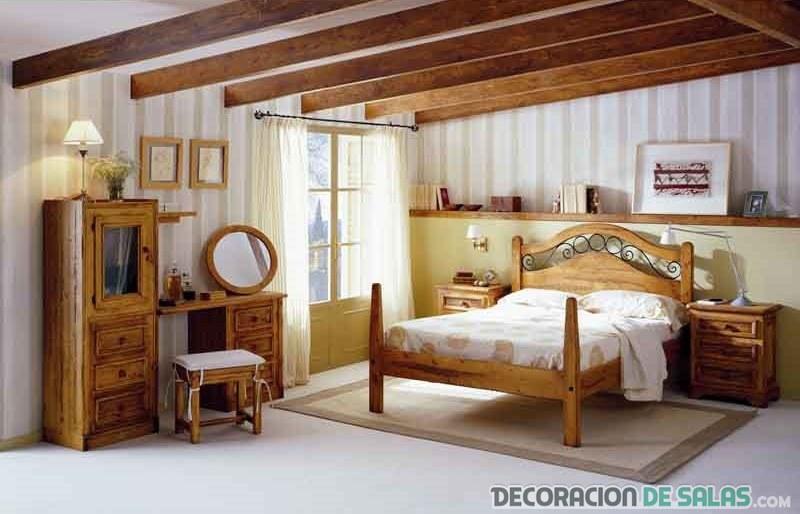 Dormitorios De Matrimonio Estilo Rustico : Dormitorios de matrimonio con estilo rústico