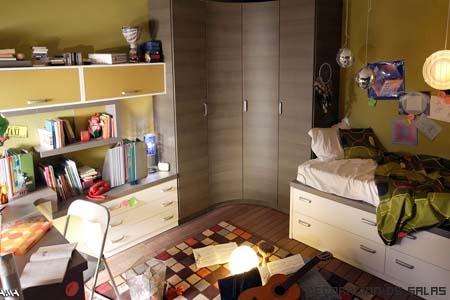 Dormitorio multiusos