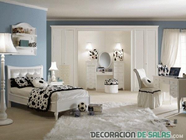 dormitorio para chicas combinado