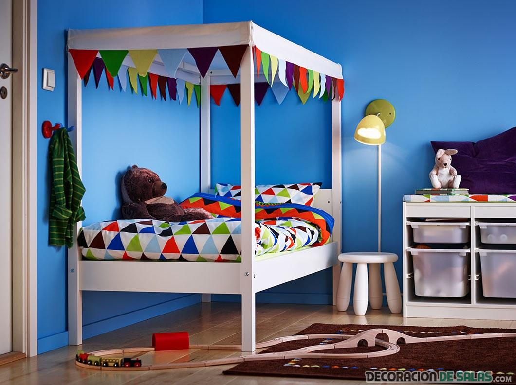 Dormitorios infantiles de la mano de ikea - Ikea habitaciones de ninos ...