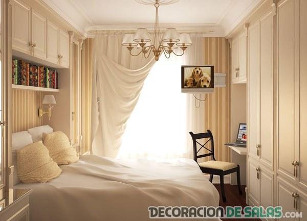 dormitorio pequeo decorado