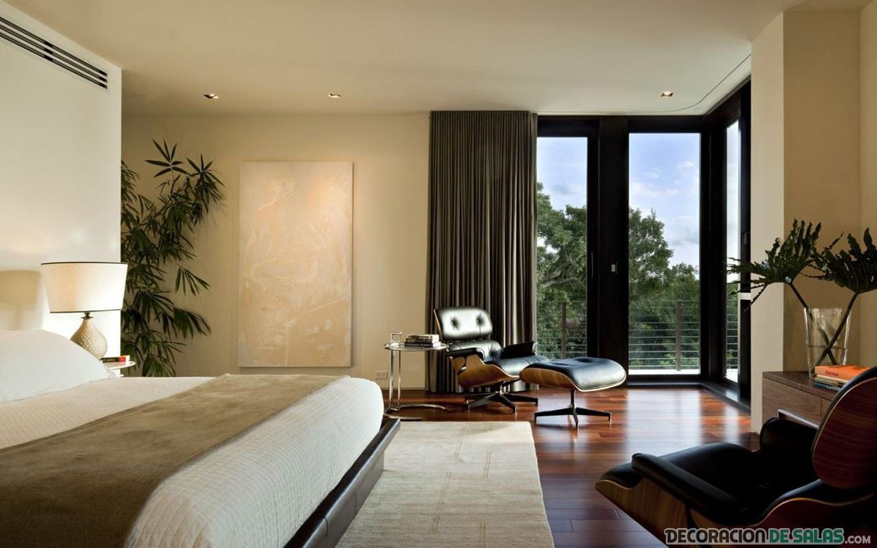 dormitorio precioso y elegante