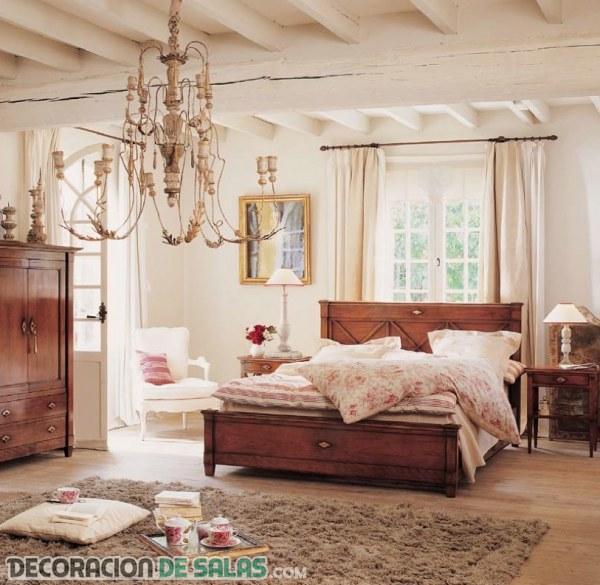 Dormitorios modernos y rústicos