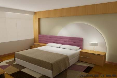 dormitorio toque de color