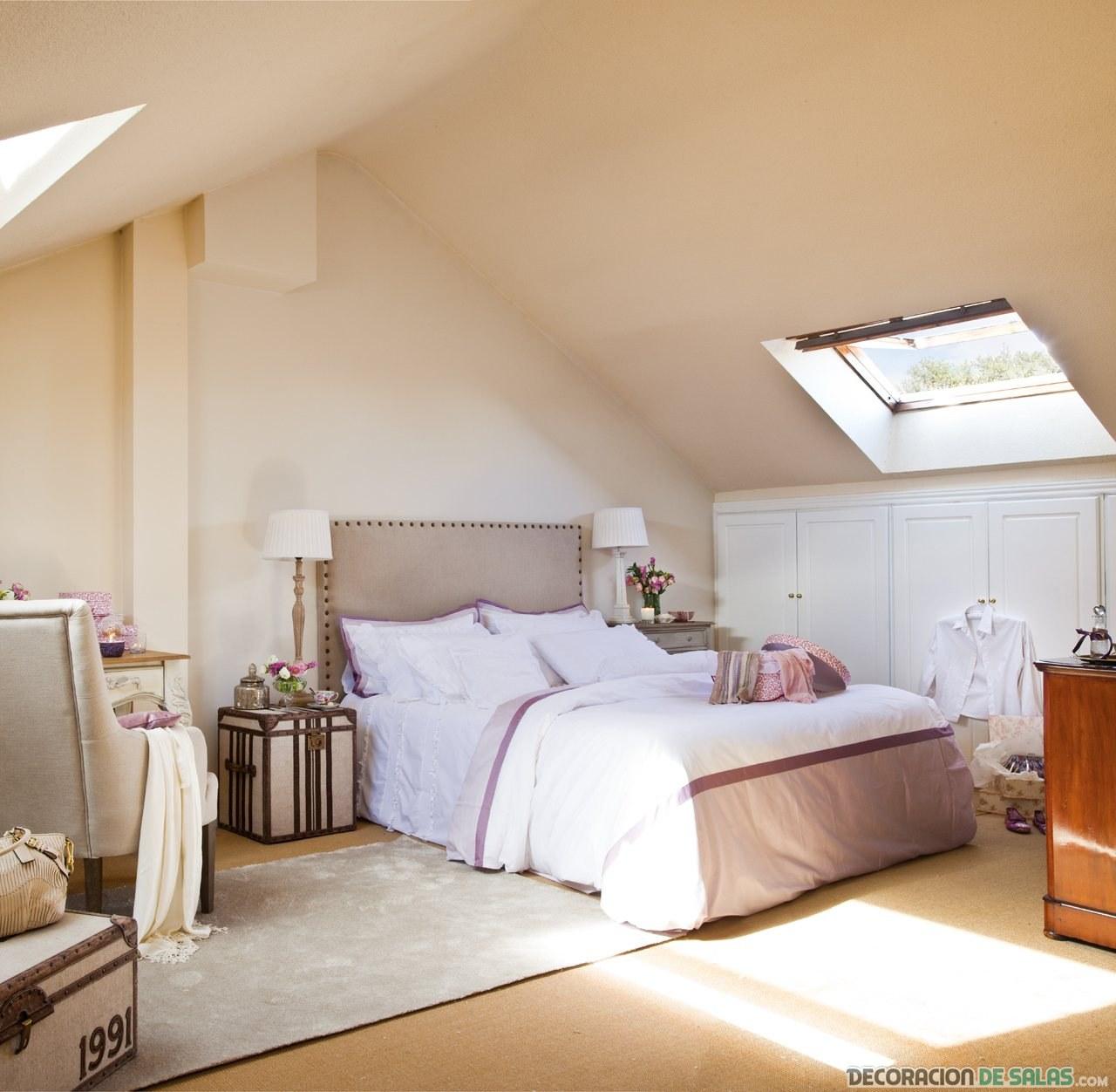 dormitorios colores neutros básicos
