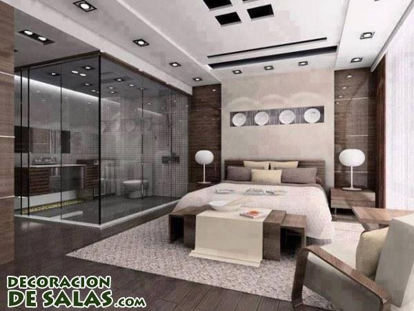 Dormitorios con ba os for Dormitorio con bano