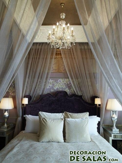dormitorios con dosel