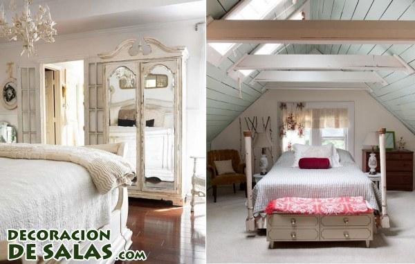 Cuatro dormitorios sencillos pero siempre elegantes