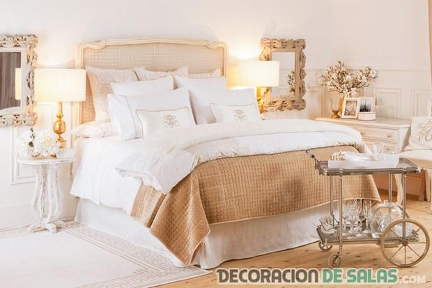 Habitaciones en color dorado todo un lujo en el hogar for El color en la decoracion