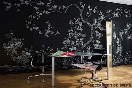 Tipos de recubrimientos para paredes - Decoracion con papel pintado y pintura ...