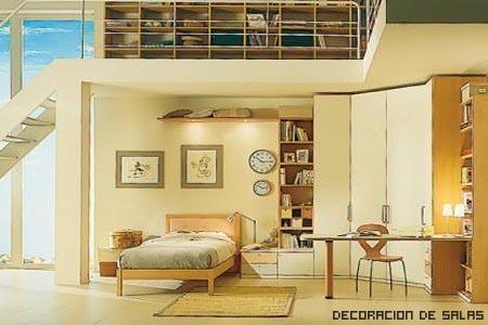 Zonas de almacenaje los altillos - Altillos en habitaciones ...