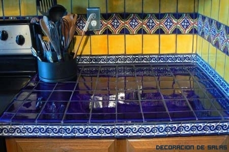 Encimeras de azulejos