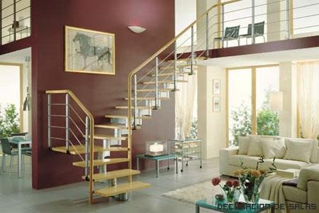 Elige la escalera m s adecuada para tu hogar - Tipos de escaleras para casas ...