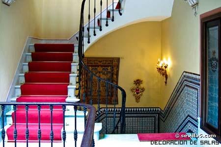 escalera estilo andaluz