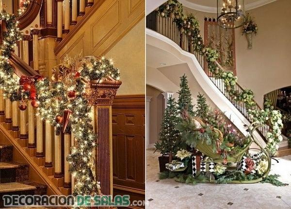 Los mejores lugares para la decoraci n de navidad for Adornos navidenos para escaleras