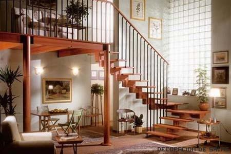 Seguridad en las escaleras interiores