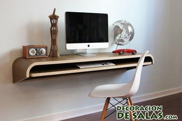 escritorio sencillo bandeja