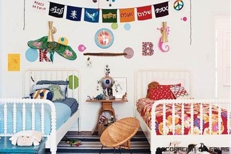 Habitación chico-chica