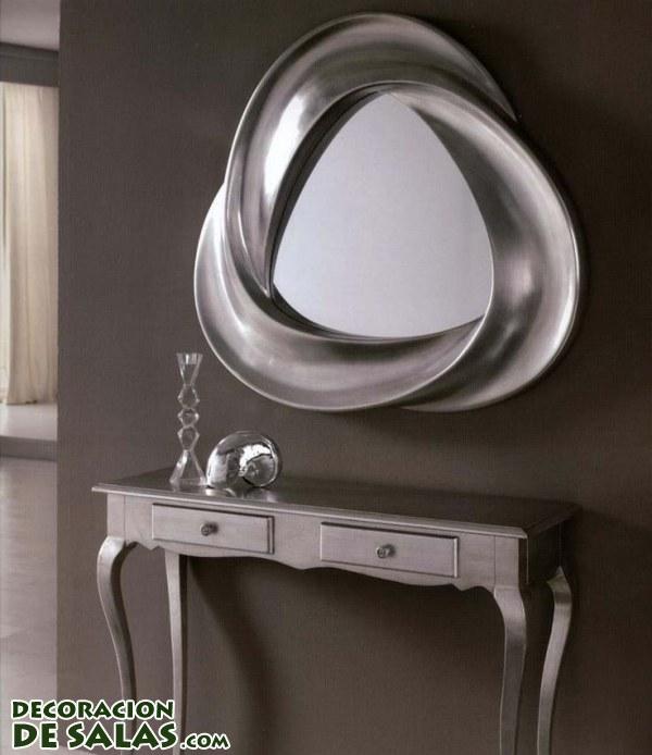 Originales espejos para tu hogar for Espejos rectangulares para sala