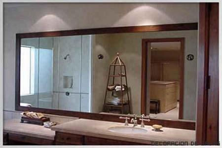ideas para colocar espejos en el ba o