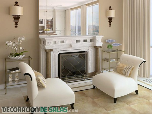 El espejo en el sal n un detalle imprescindible for Espejos originales para salon
