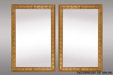C mo limpiar objetos dorados for Espejo marco dorado