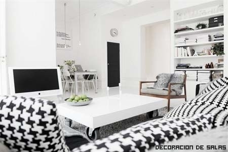 Consejos para decorar estancias en blanco