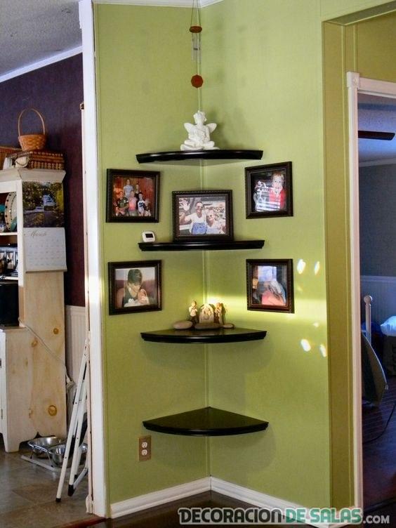 Ideas para decorar las esquinas for How to decorate a bare living room wall