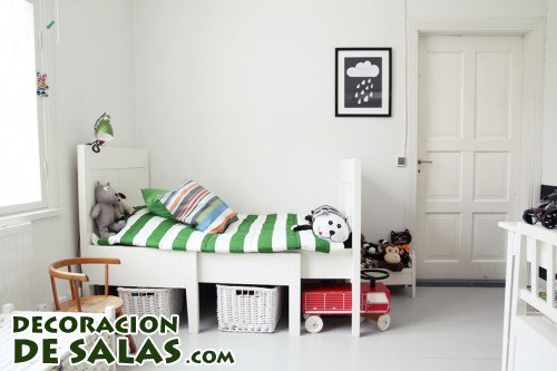 Estilo n rdico en habitaciones infantiles for Dormitorio infantil nordico