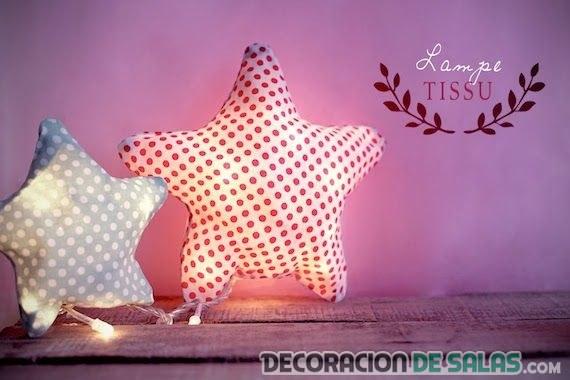 estrellas peluches luminosos