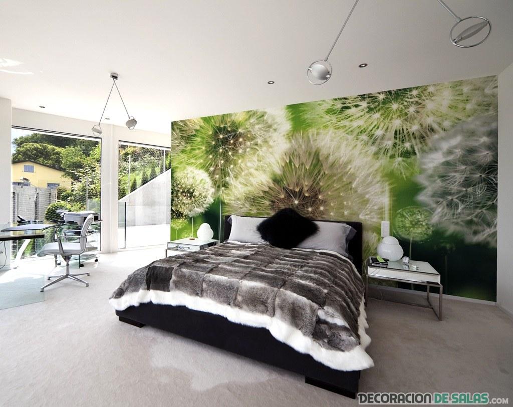 Ideas para decorar paredes con fotomurales - Murales papel pintado para pared ...