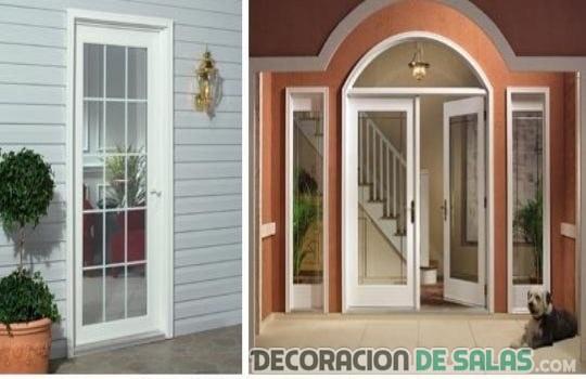 La mejor puerta para la entrada for Puertas exteriores modernas para casas
