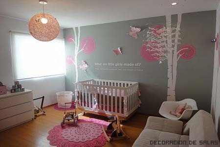 Gu a para combinar el gris for Combinacion de color rosa
