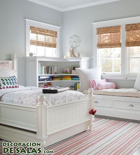 Habitaciones blancas - Habitaciones blancas juveniles ...