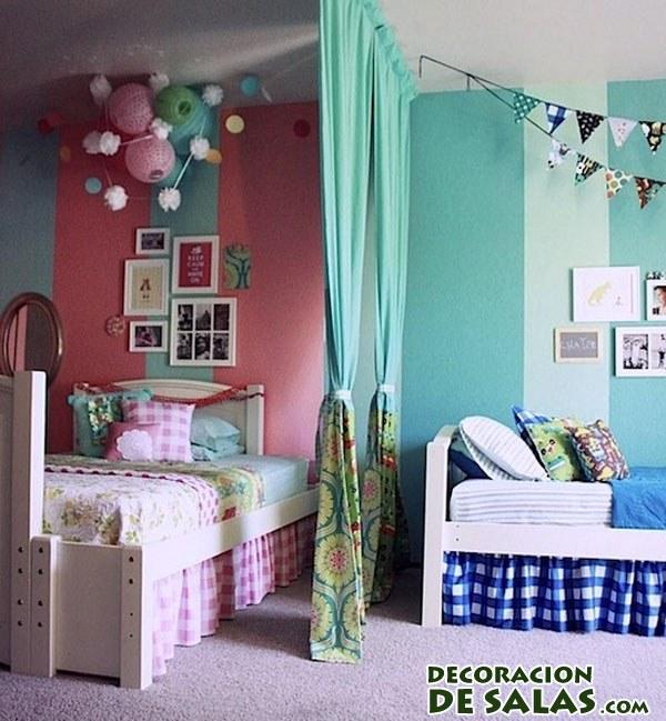 Separando habitaciones de ni a y ni o - Pintar habitacion infantil nino ...